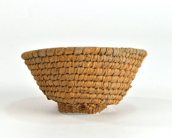 An Egyptian Woven Reed Basket, Late Period, 722-332 B.C.