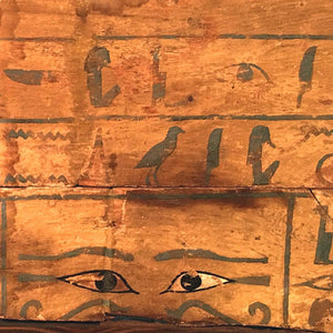 An Egyptian Wood Side Panel from a Sarcophagus for Hetepher, Middle Kingdom, ca 2134 - 1778 BC - Sands of Time Ancient Art