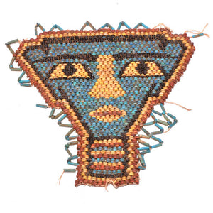 An Egyptian Beadwork Mummy Mask, Late Period, ca. 664 - 332 BCE - Sands of Time Ancient Art