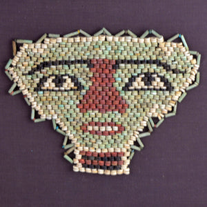 An Egyptian Beaded Mummy Mask, Late - Ptolemaic Period, ca. 664 - 30 BCE - Sands of Time Ancient Art