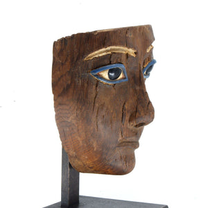 * A Superb Egyptian Wood Mummy Mask, 18th Dynasty, ca. 1550 - 1295 BC - Sands of Time Ancient Art