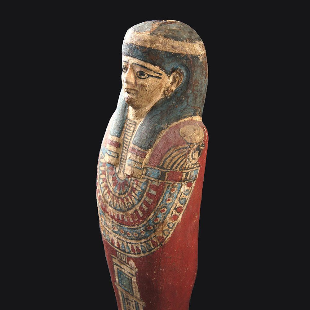 An Egyptian Wood Ptah-Sokar-Osiris, Late - Ptolemaic Period, ca 664 - 30 BCE - Sands of Time Ancient Art