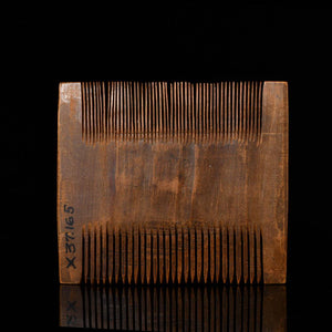 * An Egyptian Wooden Comb, New Kingdom, ca. 1550 - 1069 BCE
