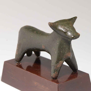 A Greek Bronze Figure of a Bull, probably Boeotian, ca. 6th Century B.C. - Sands of Time Ancient Art