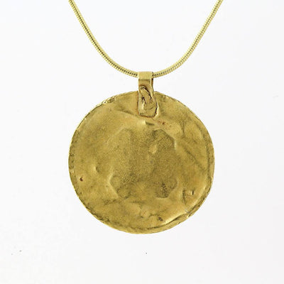 A Hellenistic Gold Pendant, ca. 1st century BC - Sands of Time Ancient Art