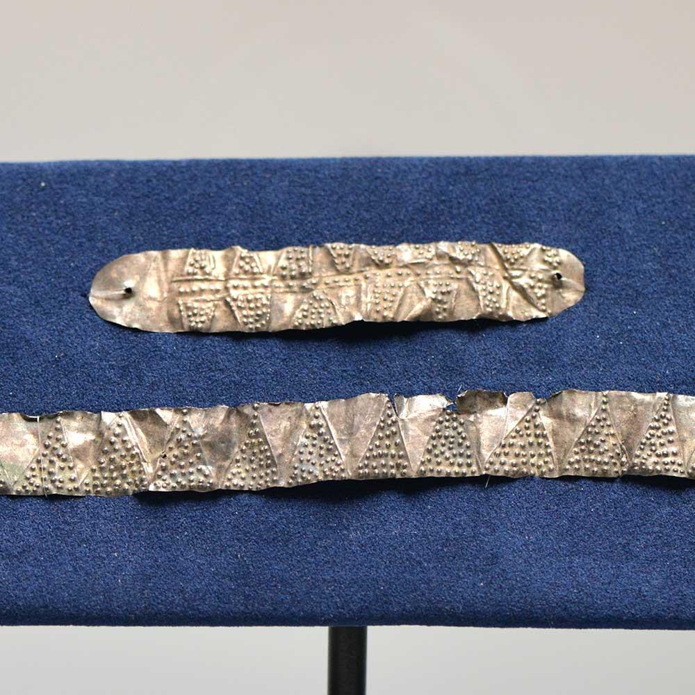 An East Greek Silver Diadem & Armlet, ca. 3rd - 1st century BC - Sands of Time Ancient Art