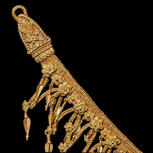 A Hellenistic Gold Strap Necklace, ca. 3rd - 2nd century BCE - Sands of Time Ancient Art