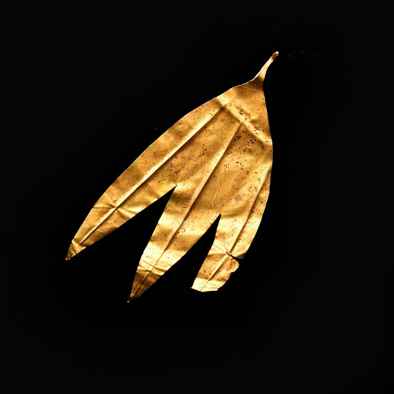 * A Greek gold Leaf from an Olive Wreath, ca. 2nd century BCE