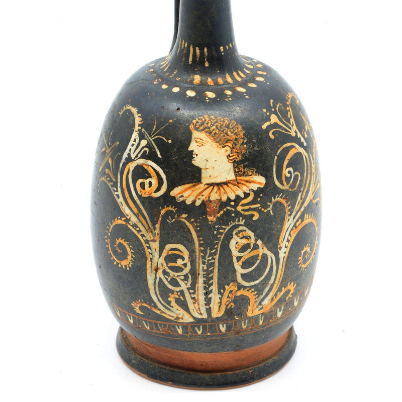 * An Apulian Gnathian-ware Lekythos, Hellenistic Period, ca. 330 - 320 BCE - Sands of Time Ancient Art