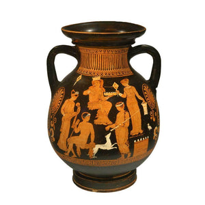 * A published Apulian Red-Figure Pelike by the Hoppin Painter, Classical Period, ca. 380 - 360 BCE - Sands of Time Ancient Art
