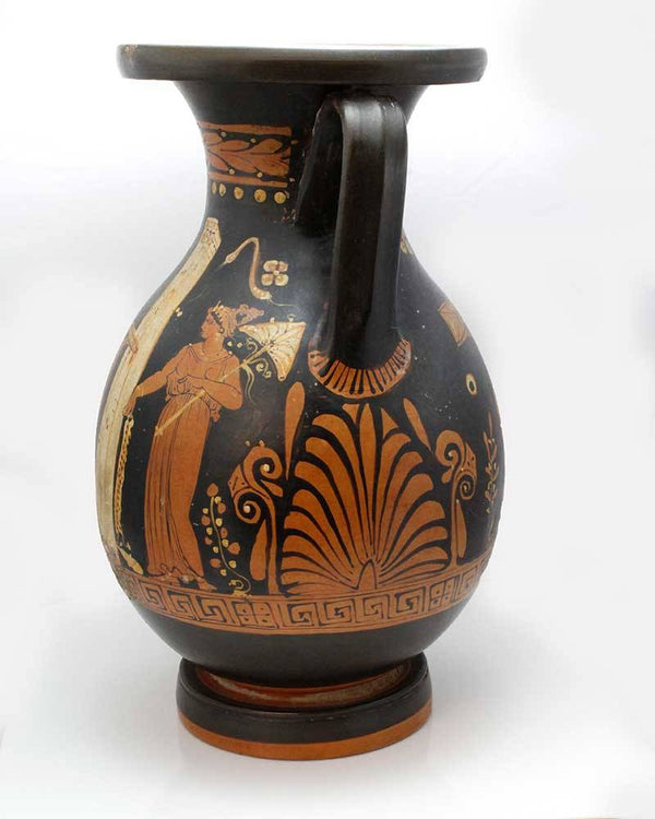 A Magna-Grecia Red-figure Pelike, Apulia, Southern Italy, ca. 380 - 360 BC - Sands of Time Ancient Art