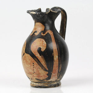 A Palesian Red Figure Bird Chous, Campania, ca. 4th century BCE - Sands of Time Ancient Art