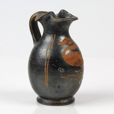 A Red-Figure Xenonware Oinochoi with Swan, Magna Grecia, ca. 4th century BC - Sands of Time Ancient Art