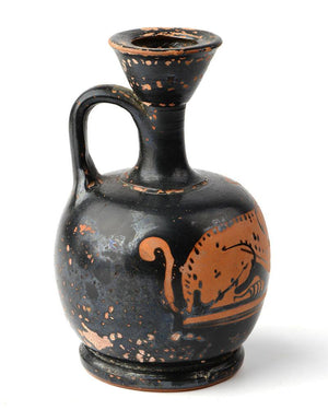 An Attic Red Figure Squat Lekythos, ca. late 5th century BC - Sands of Time Ancient Art