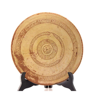 A Cypriot Tin-Glazed Ceramic Plate, ca. 10th-12th Centuries AD - Sands of Time Ancient Art