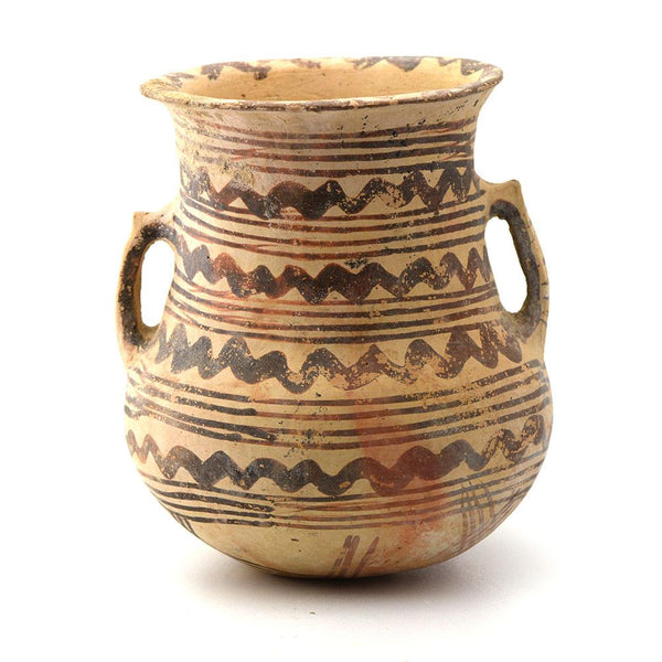 A Cypriot White Painted V Tankard, Middle Cypriot III-Late Cypriot IA, ca. 1750-1600 BC - Sands of Time Ancient Art