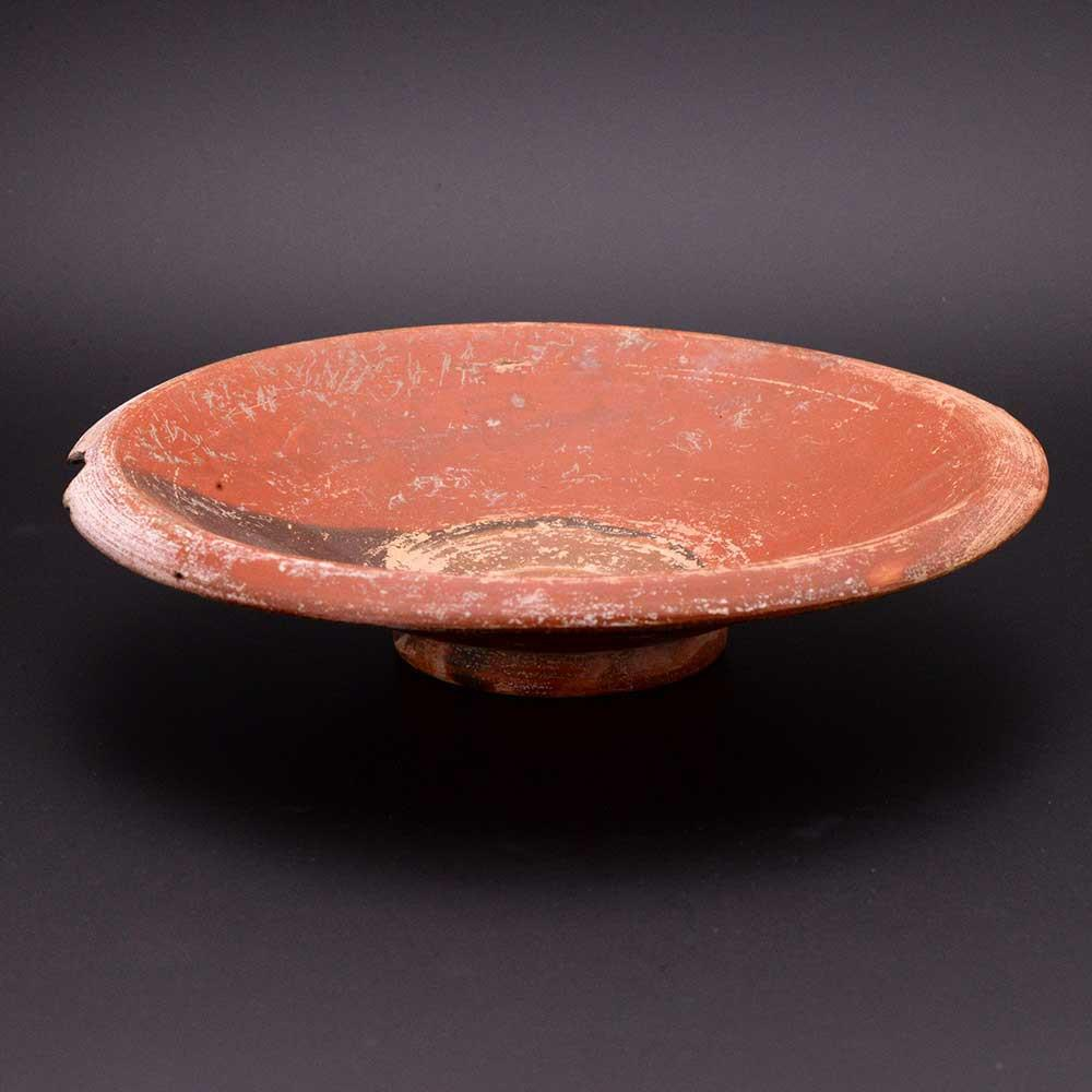 An Ionian red-glazed Fish Plate, ca. 4th century BCE - Sands of Time Ancient Art