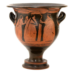 An Attic Red-Figured Bell Krater attributed to the Black Thyrsus Painter, late Classical Period, ca. 375-350 BC - Sands of Time Ancient Art