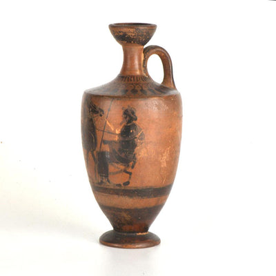 * An Attic Black Figure Lekythos, Classical Period, ca. 5th century BC - Sands of Time Ancient Art
