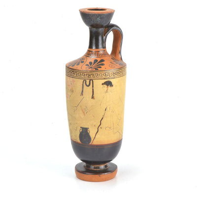 * A Published Attic White Ground Lekythos by the Painter of the Yale Lekythos, ca. 470–460 B.C. - Sands of Time Ancient Art