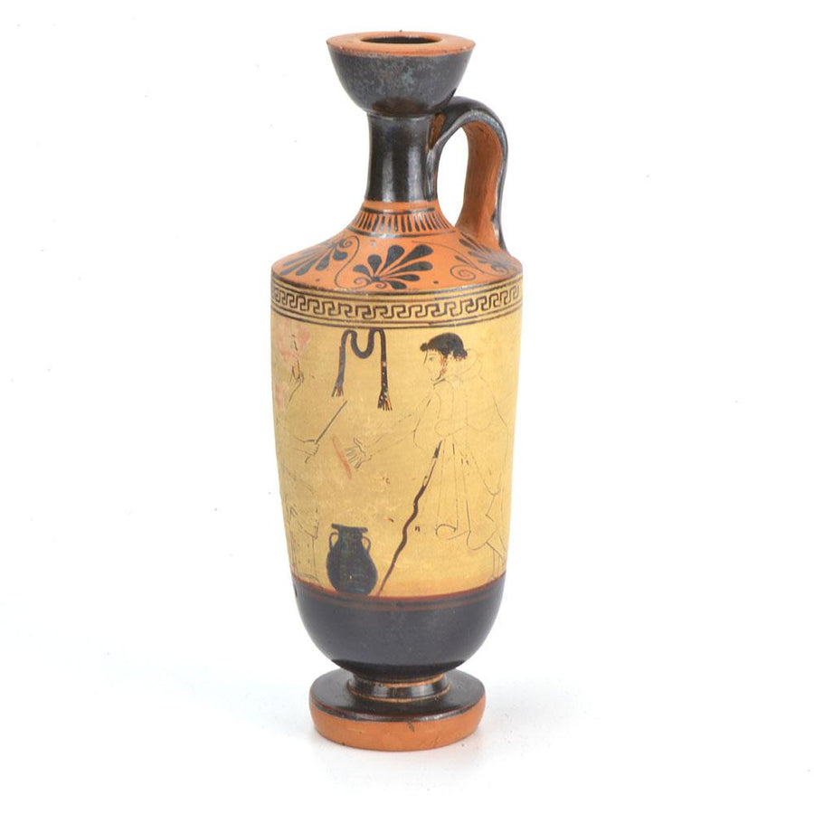 * A Published Attic White Ground Lekythos by the Painter of the Yale Lekythos, ca. 470–460 B.C.