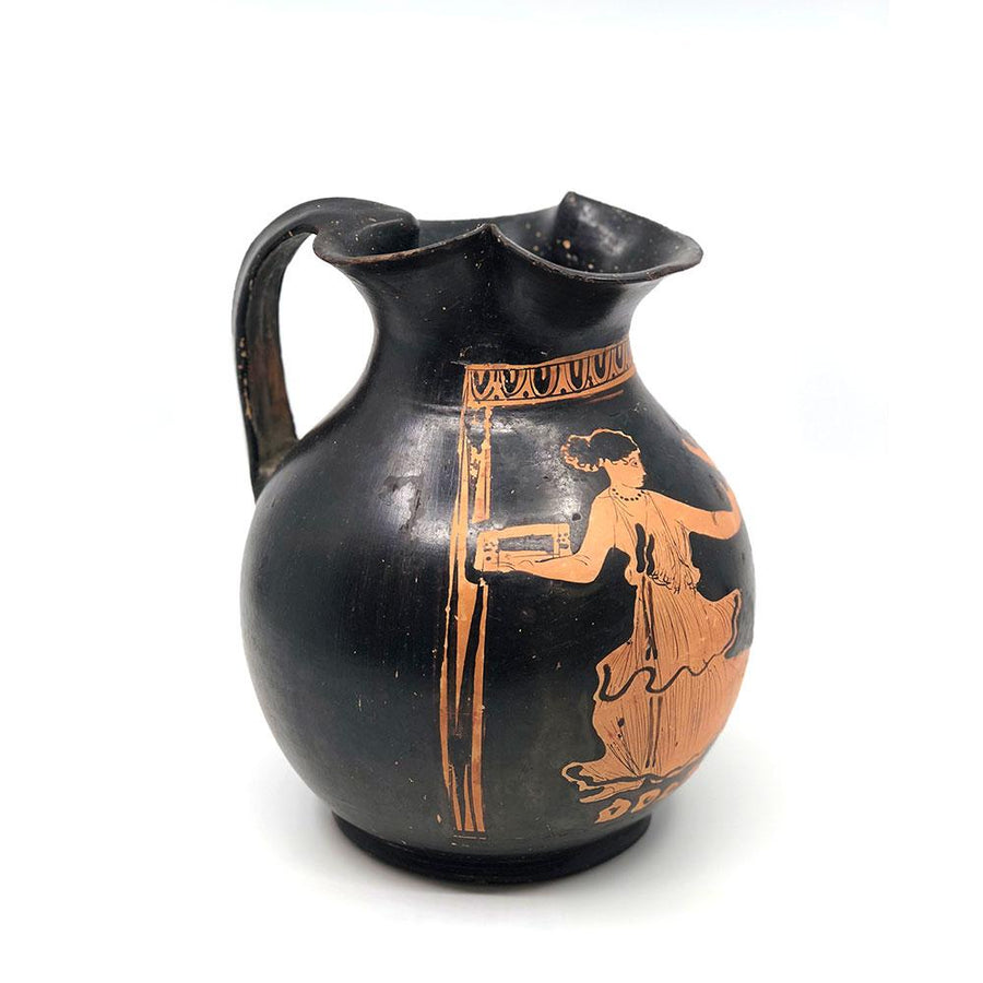 A Campanian Red Figure Oinochoe, ca. 4th century BC - Sands of Time Ancient Art