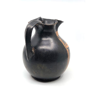 A Campanian Red Figure Oinochoe, ca. 4th century BCE - Sands of Time Ancient Art