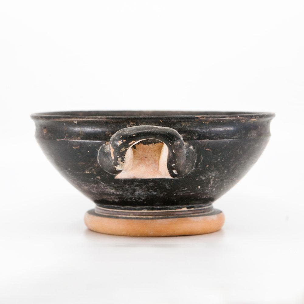 An Attic Black-Glazed Stemless Kylix, ca. 4th century BCE - Sands of Time Ancient Art