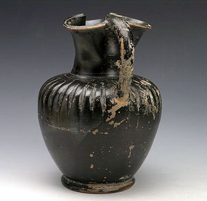 An Attic Black-Glazed Oinochoe, ca. 5th century BCE - Sands of Time Ancient Art