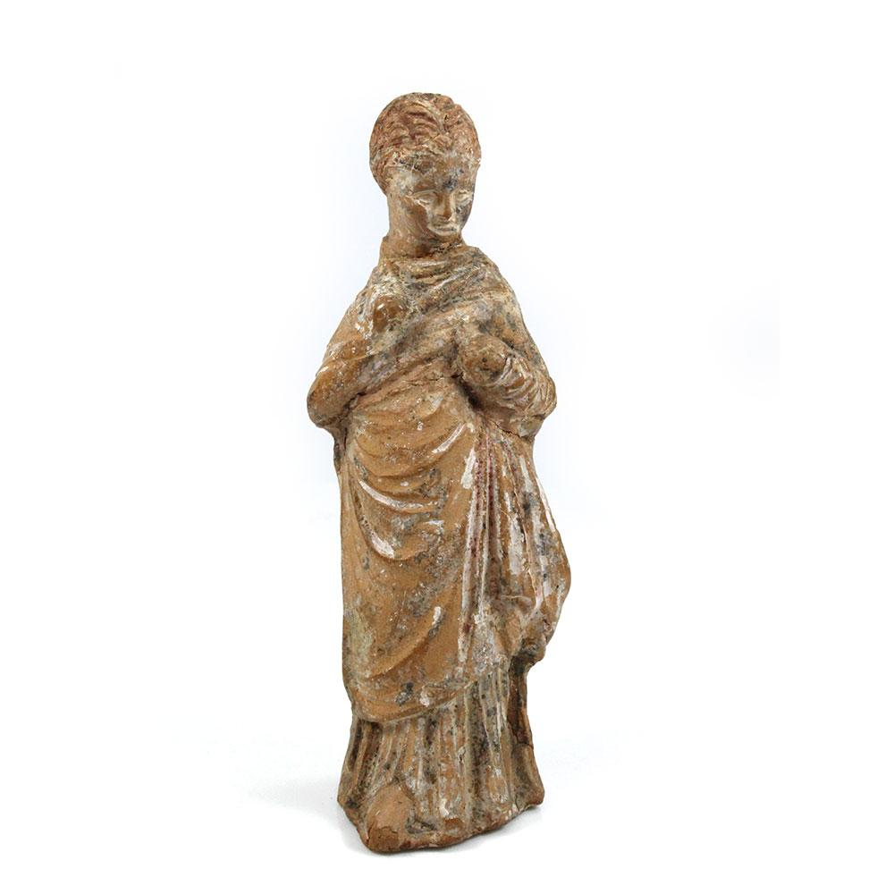 A Hellenistic Statuette of a young Girl, ca. 3rd - 1st century BCE - Sands of Time Ancient Art