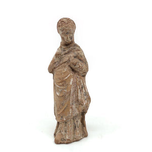 A Hellenistic Statuette of a young Girl, ca. 3rd - 1st century BC - Sands of Time Ancient Art
