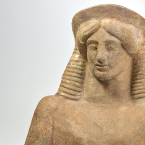 A Greek Terracotta Protome of Demeter, ca. 5th century BC - Sands of Time Ancient Art