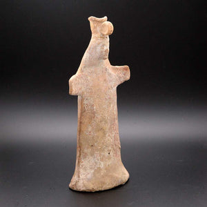 A Boeotian Terracotta Papades Statuette, Archaic Period, ca. 6th century BCE - Sands of Time Ancient Art
