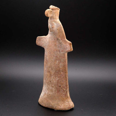 A Boeotian Terracotta Papades Statuette, Archaic Period, ca. 6th century BC - Sands of Time Ancient Art