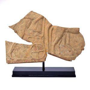 A Greek Terracotta Pinax Fragment, ca 5th century BCE - Sands of Time Ancient Art
