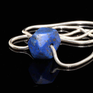A Phoenician Lapis Lazuli Bead Pendant, ca. 1st Millennium BCE - Sands of Time Ancient Art