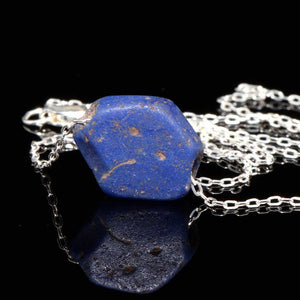 * An Egyptian Lapis Lazuli Bead Pendant, Middle Kingdom, ca. 2040 - 1786 BCE