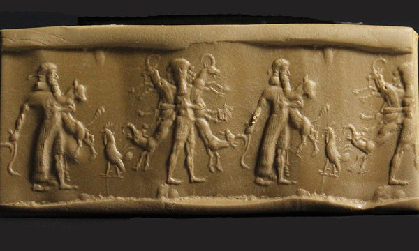 A Neo-Babylonian Sardonyx Cylinder Seal, ca. 1000-500 BC - Sands of Time Ancient Art
