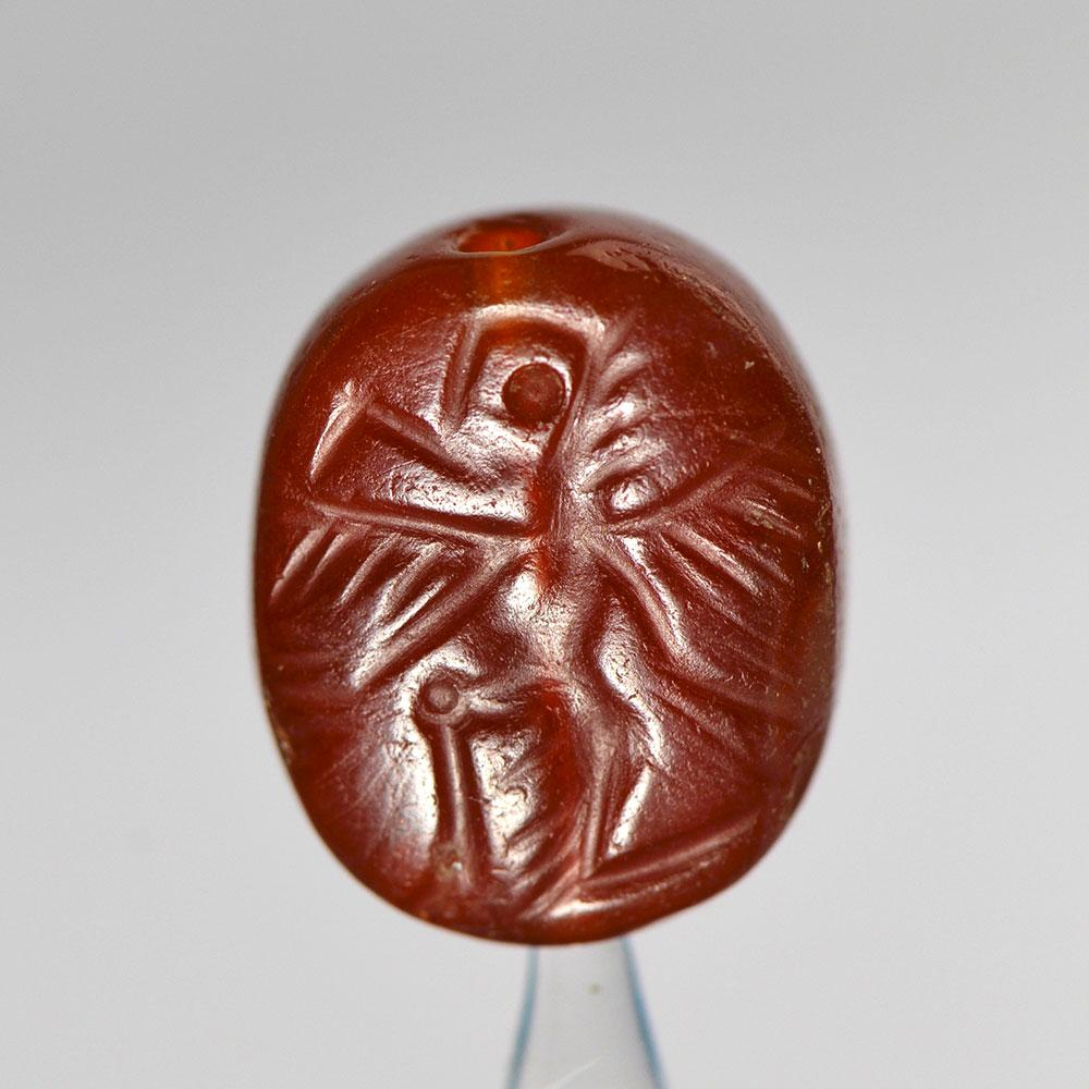 A Near Eastern Carnelian Seal, ca. 1st millennium BCE - Sands of Time Ancient Art