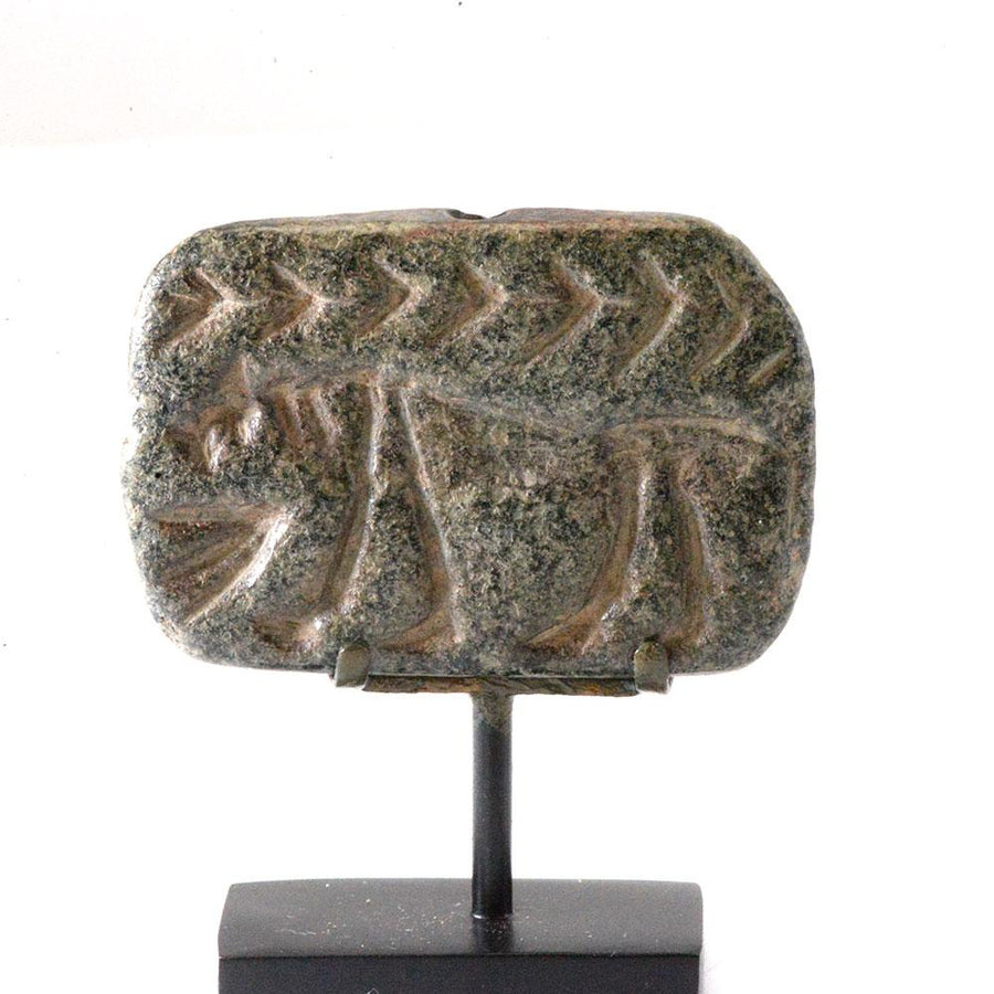 An Anatolian Stone Gable Seal, Late Chalcolithic Period (ca. 4500-3500 BC)