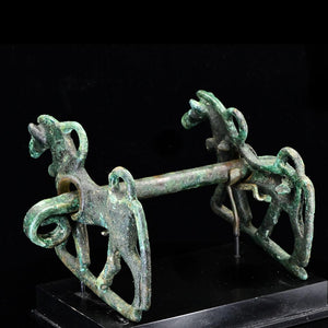 A Luristan Bronze Horse Bit, ca. 1st millenium BCE - Sands of Time Ancient Art