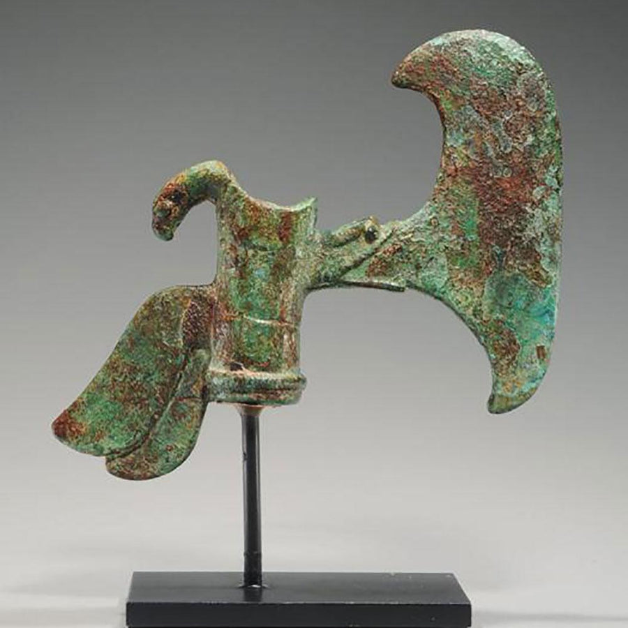 An Elamite Bronze Shaft-Hole Axehead, ca. early 2nd Millennium BCE - Sands of Time Ancient Art
