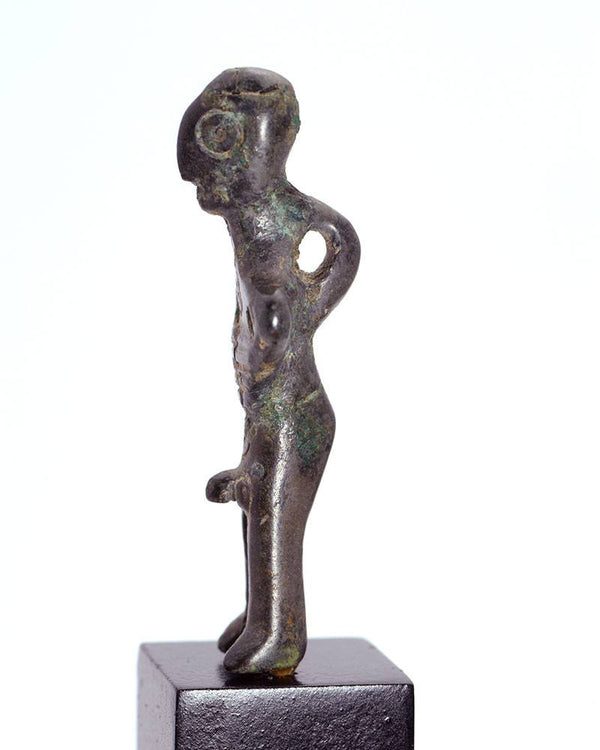 * A Luristan Bronze Ithyphallic figure of a Man, ca. 2nd millennium BC - Sands of Time Ancient Art
