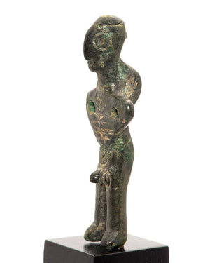 A Luristan Bronze Ithyphallic figure of a Man, ca. 2nd millennium BCE - Sands of Time Ancient Art