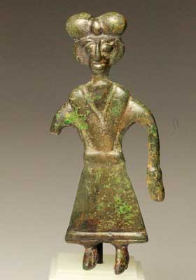 A Northern Iranian bronze Pendant, Amlash region, ca 8th - 6th century BC - Sands of Time Ancient Art