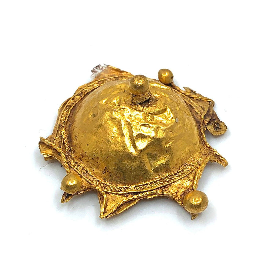 A Holy Land Gold Brooch, ca late 4th century BCE - Sands of Time Ancient Art