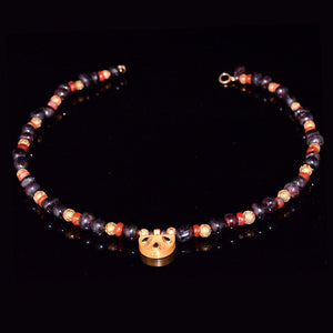 A Near Eastern Garnet and Carnelian Bead Necklace, ca. 1st millennium BC - Sands of Time Ancient Art