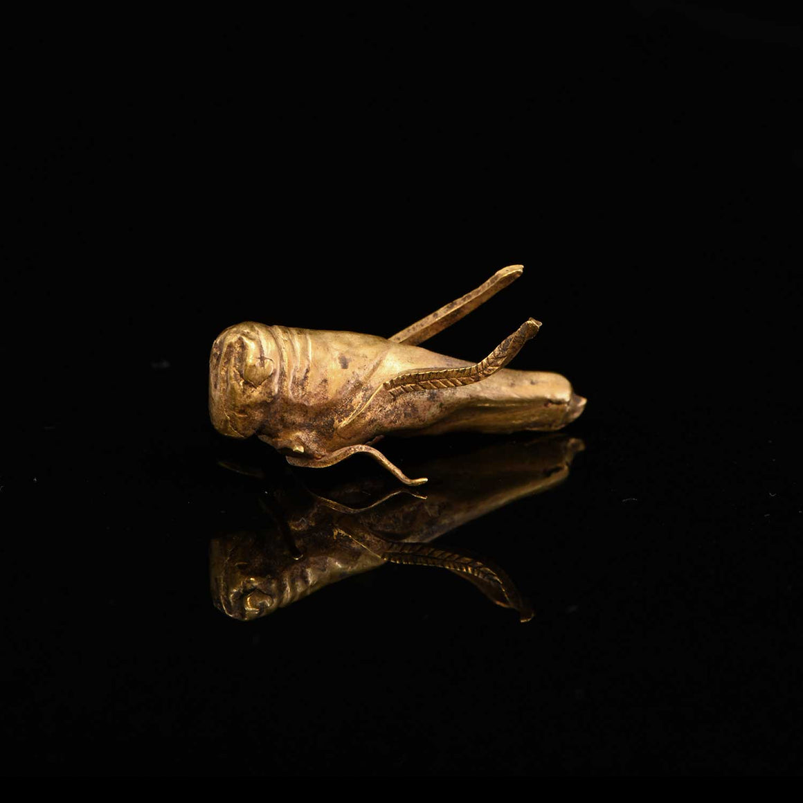 * An important Biblical Canaanite gold Locust, ca 11th century BCE - Sands of Time Ancient Art