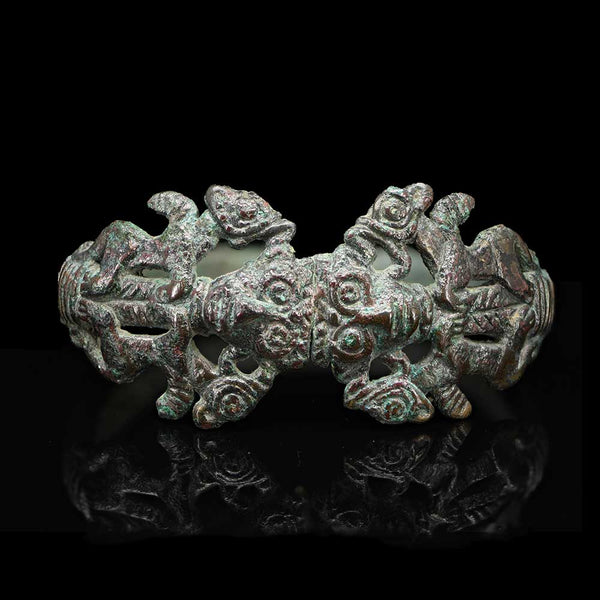 * A Luristan Bronze Bracelet, ca. 1200 - 800 BCE - Sands of Time Ancient Art