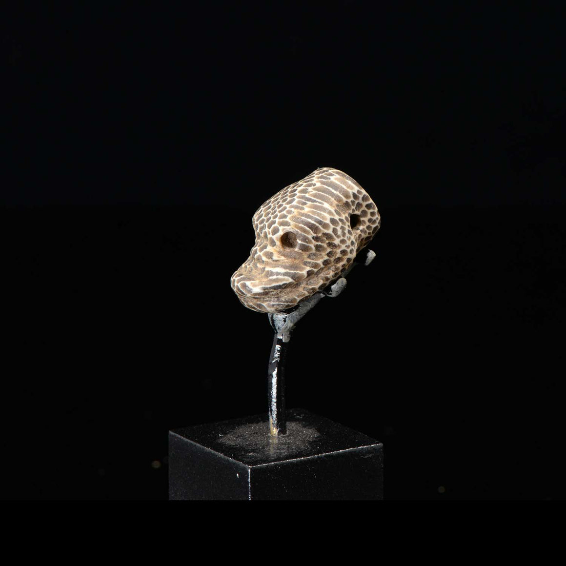 * A superb Near Eastern Snake Head Amulet, Achaemenid Period, ca. 550 - 330 BCE - Sands of Time Ancient Art